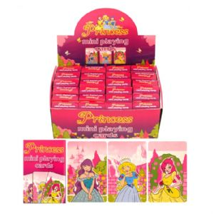 24 x Packs Of Princess Themed Mini Playing Cards - Wholesale Bulk Buy Party Bag Fillers